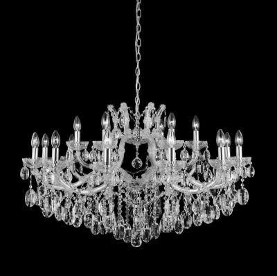 Подвесная люстра Crystal Lux Hollywood SP12+6 Chrome