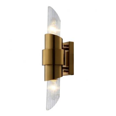 Бра Crystal Lux Justo AP2 Brass